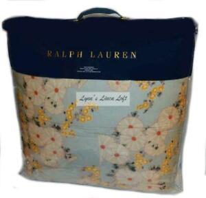 RALPH LAUREN Cassie Anitra Celadon Floral KING COMFORTER NEW $430