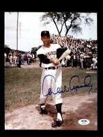 Orlando Cepeda PSA DNA Cert Hand Signed 8x10 Giants Photo Autograph