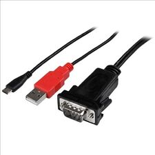 StarTech.com Micro USB to RS232 DB9 Serial Adaptor Cable for Android with USB