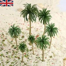 UK Stock Multi Sizes Coconut Palm Model Trees 15X Railroad Diorama Scenery HO N