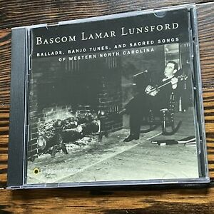 Basco Lunsford / Ballads, Banjo Tunes, And Sacred Songs Of Western North Carol..