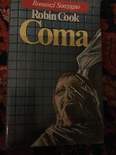 Robin Cook COMA Sonzogno 1978 prima ed., pagine ingiallite ma mai letto