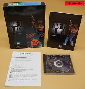 FADE TO BLACK - 1995 - ELECTRONIC ARTS - PC Spiel / CD-ROM BIG BOX !! TOP !!