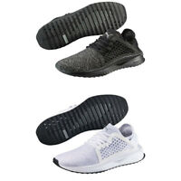 Puma TSUGI Netfit Evoknit Mens Trainers Shinshei Cage Black White Shoes
