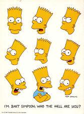 L007094 Matt Groening. Im Bart Simpson. Who the hell are you. 1991 Twentieth Cen