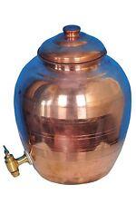 3 L PURE COPPER MATKA COPPER POT COPPER WATER TANK DISPENSER COPPER CONTAINER