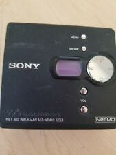 Sony Net MD Walkman MZ-NE410 Mini Disc Player Recorder WORKING