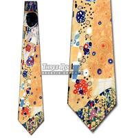 The Kiss Necktie Gustav Klimt Ties Mens Art Neck Tie
