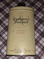 Vintage Cashmere Bouquet Talcum Powder Net Weight 2 Oz Colgate Palmolive Peet Co