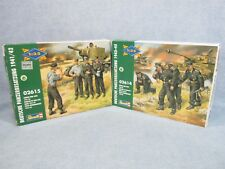 Revell model kits 02614 + 02615 - German Tank Crews WWII - 1:35 scale