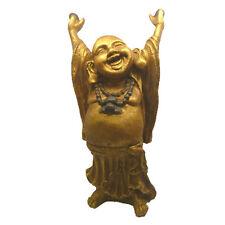 Standing Laughing Buddha - Gold