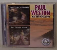 Mood Music/Dream Time Music by Paul Weston (CD, Mar-2006) 2 LPs on 1 CD 24 Track