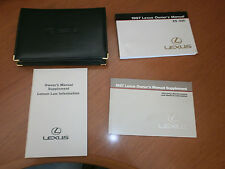97 1997 Lexus300 Owners Manual Set With Case