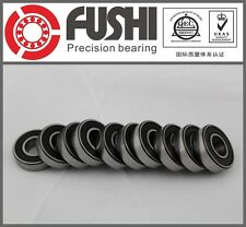 6000RS Bearing 10x26x8 mm ABEC-5 (10PC) Miniature 6000 RS Ball Bearings 6000-2RS