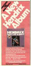 "1978 Jimi Hendrix ""High, Live 'N Dirty"" Album Promo Ad"