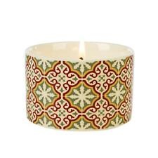 Fired Earth Design Medium Ceramic Candle Emperors Red Tea by Wax Lyrical
