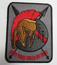 Knights patch - with your shield or on It - Sew/iron on -  biker men's shed