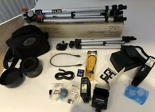 Lot Of Camera Accessories- tripods, flashes, cases, etc.