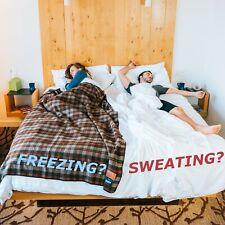 REFURBISHED - BEIGE QUEEN KÖMFORTE Dual Zone Couple's Comforter – Duvet Insert