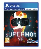 Superhot PSVR Sony Playstation 4 PS4 Game