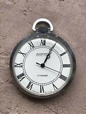 Mechanical Vostok 2409 pocket watch USSR