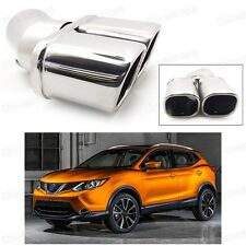 Double Outlets Exhaust Muffler Tip Tailpipe for Nissan Rogue Sport 2017-Up #2066