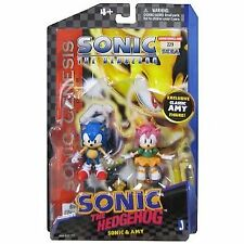 """Sonic 3"""" Action Figure Classic Comic Book Pack"""