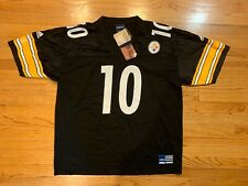 Pittsburgh Steelers Kordell Stewart Vintage Jersey Black Adidas NWT Size XL RARE