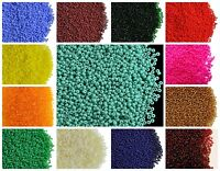 CHOOSE COLOR! 20g 13/0 (1.7mm) Seed Beads Rocailles Preciosa Ornela Czech Glass