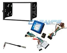 NEW DOUBLE 2 DIN CAR STEREO RADIO DASH INSTALLATION KIT WITH ONSTAR INTERFACE