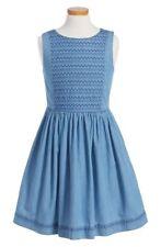 Johnnie B. - Boden - Embroidered Denim Dress - Mädchen Kleid - Jeanskleid NEU