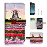 ( For iPhone 6 Plus / iPhone 6S Plus ) Case Cover P1908 Flower Farm