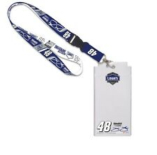 JIMMIE JOHNSON #48 LOWE'S RACING LANYARD & CREDENTIAL HOLDER BRAND NEW WINCRAFT