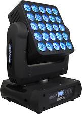 Blizzard Lighting BlockHead 5x5 Pixel LED Moving Head 25x 12 watt RGBW CREE LEDs