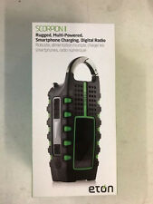 Eton NSP101WXGR Scorpion ll Rugged Portable Multi-Purpose Digital Radio with ...