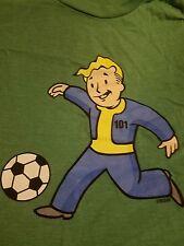 Fallout Vault Boy Tee of the Month club Le 6-2014 Soccer Agi Uni 2Xl T-Shirt