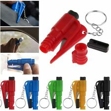 Car Auto Emergency Safety Hammer Belt Cutter Window Glass Breaker Escape Tool