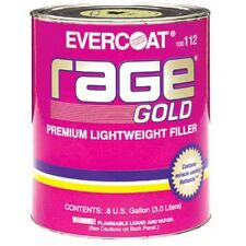 Rage Gold Body Filler NEW WITH HARDNER