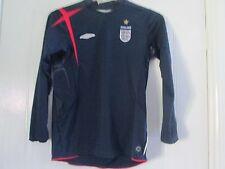 England 2007-2009 Goalkeeper Football Shirt long sleeve Size Large Boys/ 41410