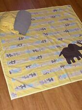 Baby Nursery Crib Bedding  Set Elephant Theme 3 Piece Set