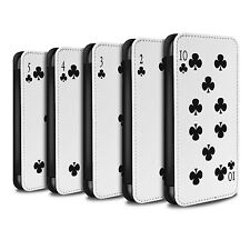 STUFF4 PU Leather Case/Cover/Wallet for Samsung Galaxy S5 Neo/G903/Playing Cards