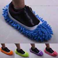 Dust Floor Cleaning Slippers Multifunction Shoes Mop House Clean Shoe Cover