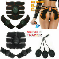 Usb / Battery Rechargeable ABS Simulator EMS Training Smart Hip Abdominal Muscle