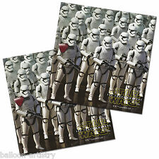 20 Star Wars Episode VII 7 The Force Awakens Party 33cm Paper Luncheon Napkins