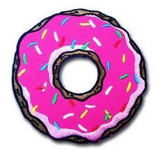 Doughnut Donut Patch Iron on Rockabilly Punk Simpsons Retro Kitsch Goth Applique