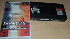 Stealth Fighter - Raketen auf Washington - Verleihtape - uncut -  VHS - ab 18