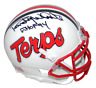RANDY WHITE SIGNED AUTOGRAPHED MARYLAND TERRAPINS TERPS WHITE MINI HELMET JSA