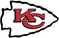 "Kansas City Chiefs NFL Color Vinyl Decal Sticker - New You Pick Size 2""-42"""