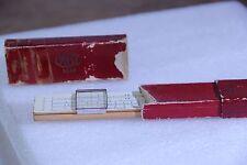 Vintage Slide Rule - Frederick Post - In Original Box - No 1447