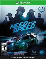 Xbox One 1 Need For Speed Racing NEW Sealed Region Free USA plays on all units!
